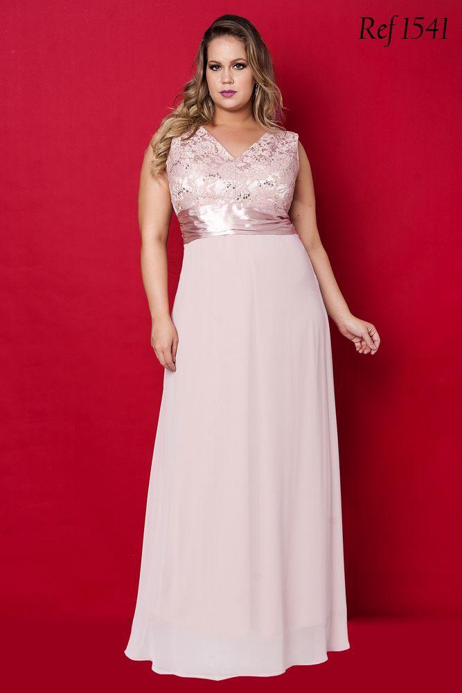 d2f49e42f Vestidos Plus Size - Aiza Collection | Look para gordinha | Vestidos ...