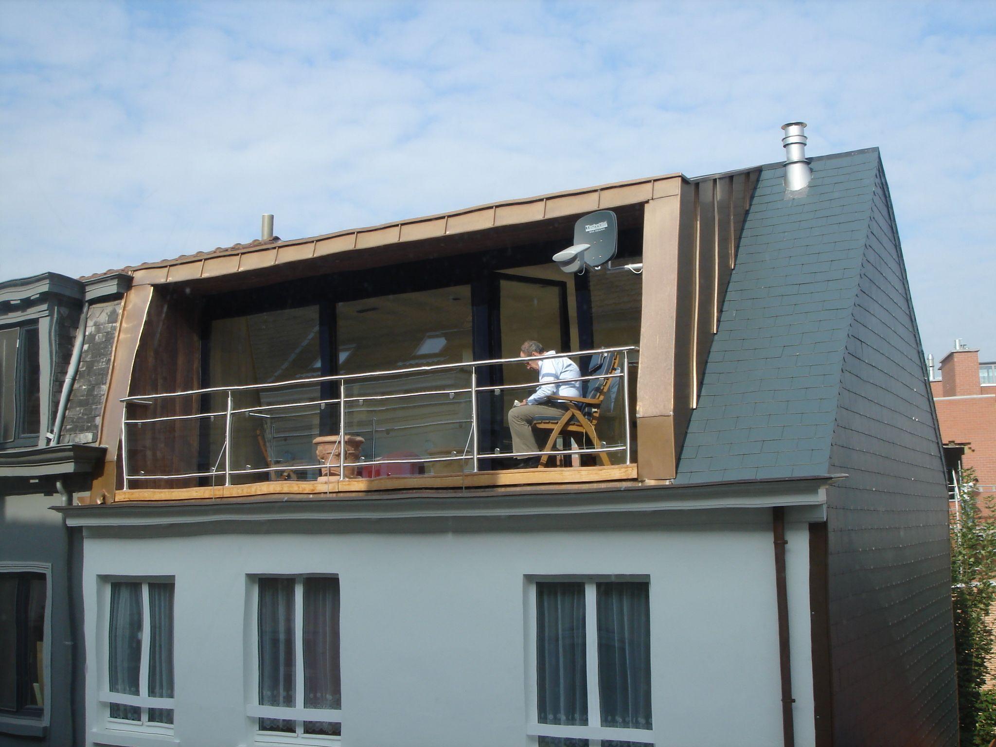 Rijhuis dakterras google zoeken ventanas techo pinterest