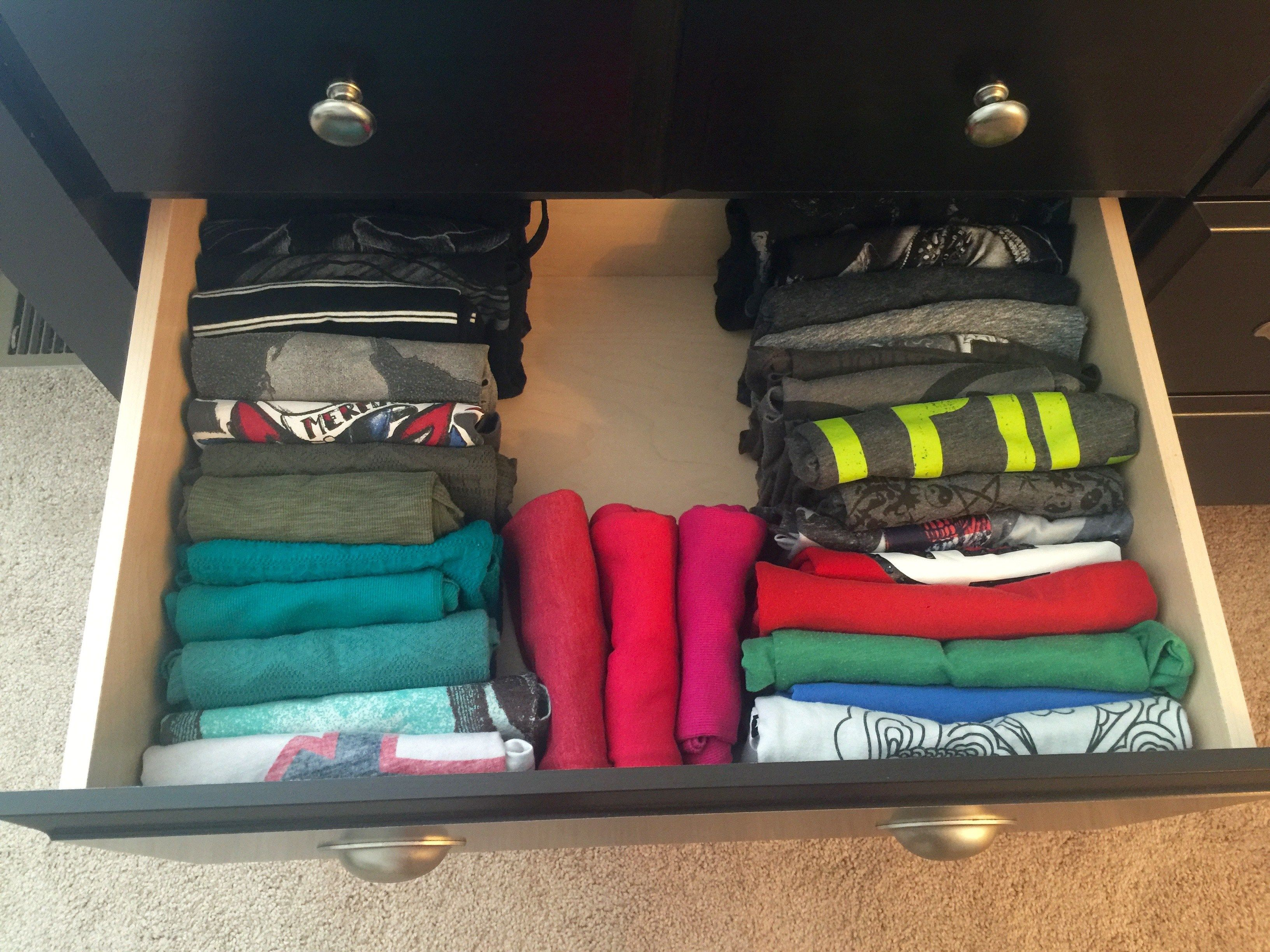 The Konmari Method Organize Your Clothes