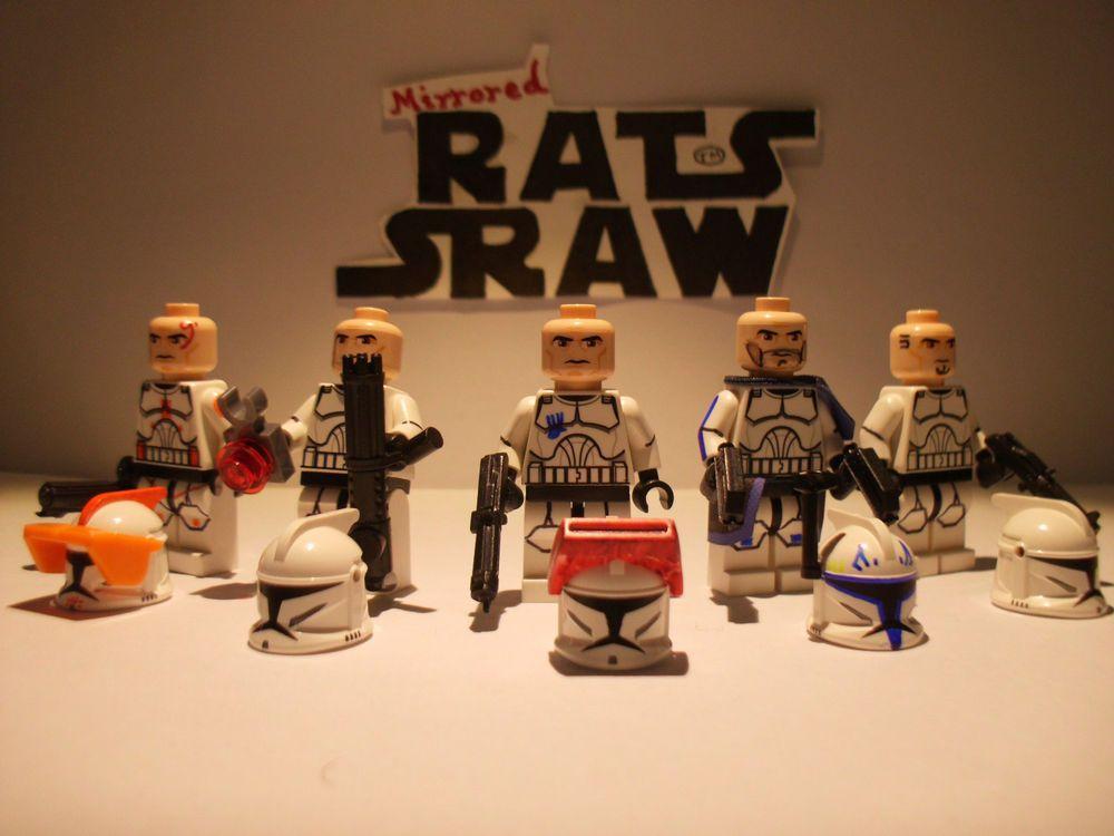 Lego Star Wars minifigures - Clone Custom Rishi Moon LIMITED EDITION ...