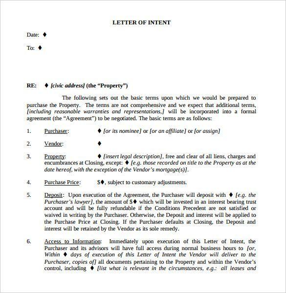 Letter Of Intent Real Estate   nationalgriefawarenessday