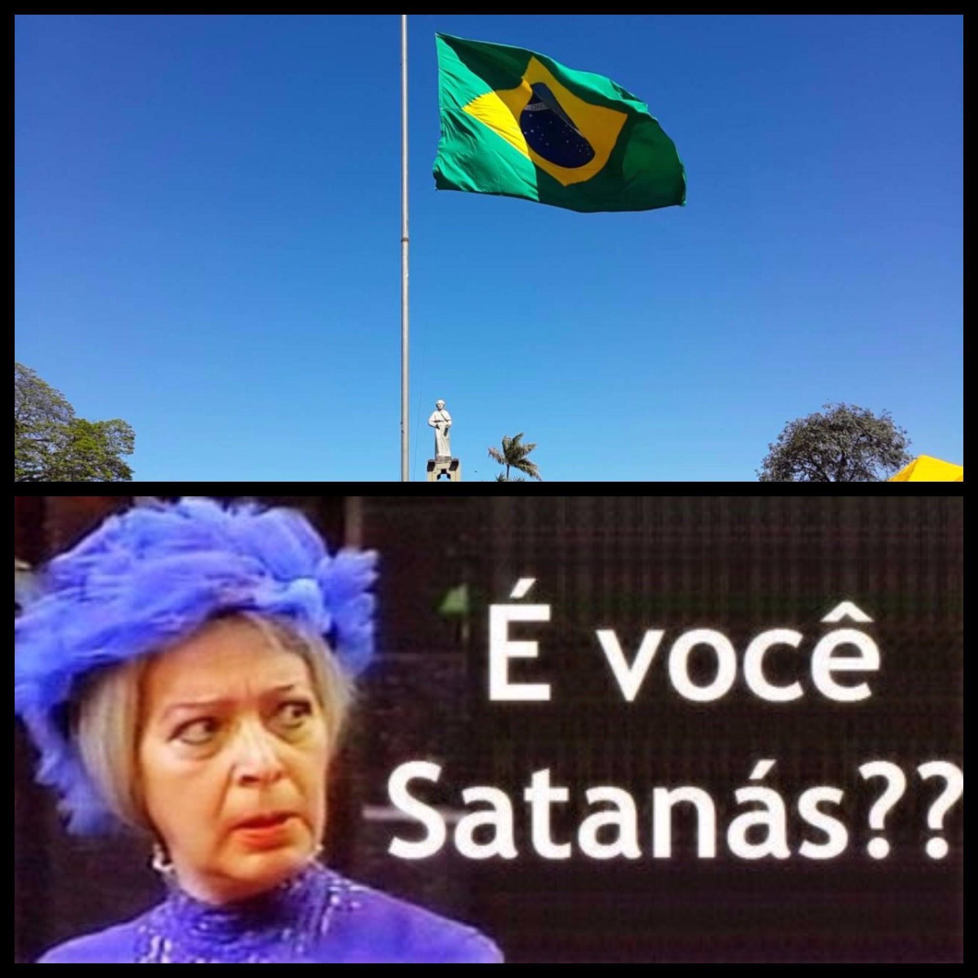 Brasil satanás brasil satanás Memes br, Youtube, Piadas