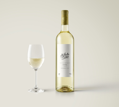 White Wine Bottle Mockup Vol 2 Mockups Free Psd Templates Wine Bottle Template Wine Bottle Wine Bottle Photography