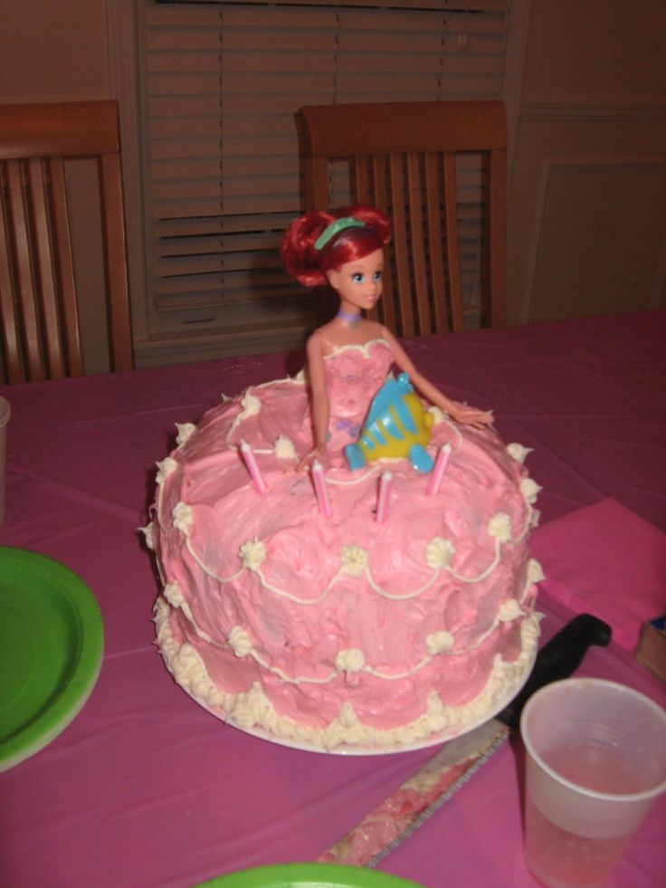 Little Mermaid Birthday Cake Katie Likes This One Katie Mermaid