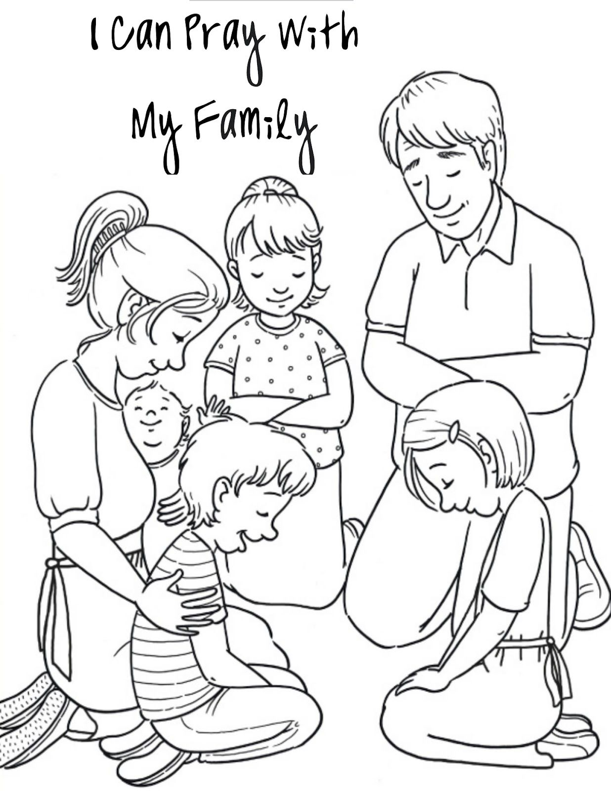 Singing Sister Sunday School Coloring Pages Lds Coloring Pages Children Praying