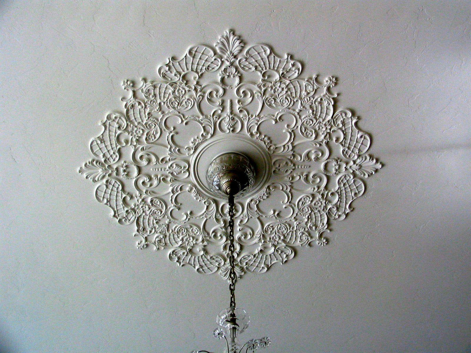 Custom Ceiling Medallion By Renaissanceornamental Com Victorian Ceiling Medallions Ceiling Medallions Ceiling Detail