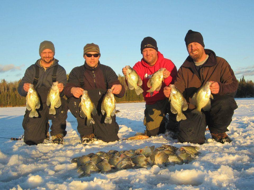 Ice fishing muskie bay resort nestor falls ontario canada for Ice fishing canada