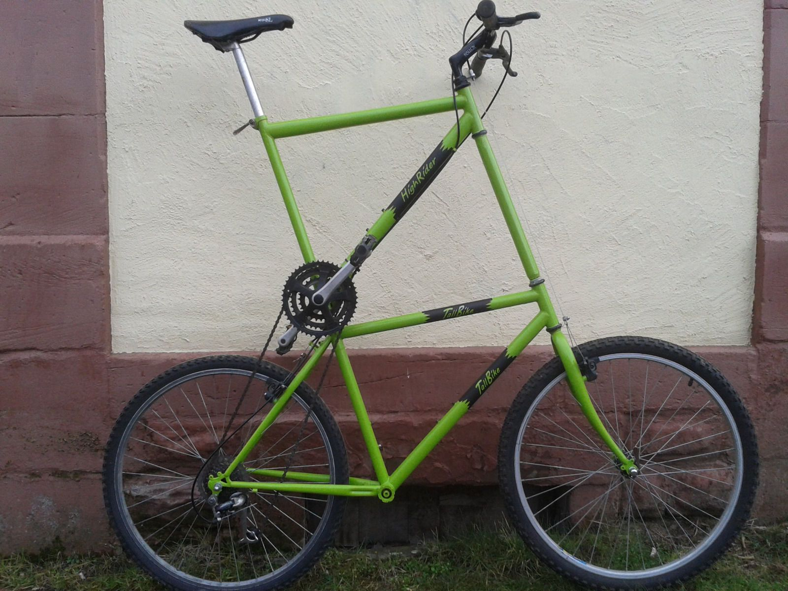 Farthing, tall bike, homemade racing, ladies bike, mountain bike, gents High Rider | eBay