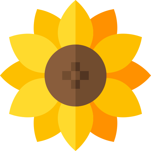Sunflower Free Vector Icons Designed By Freepik In 2021 Free Icons Flower Icons Vector Free