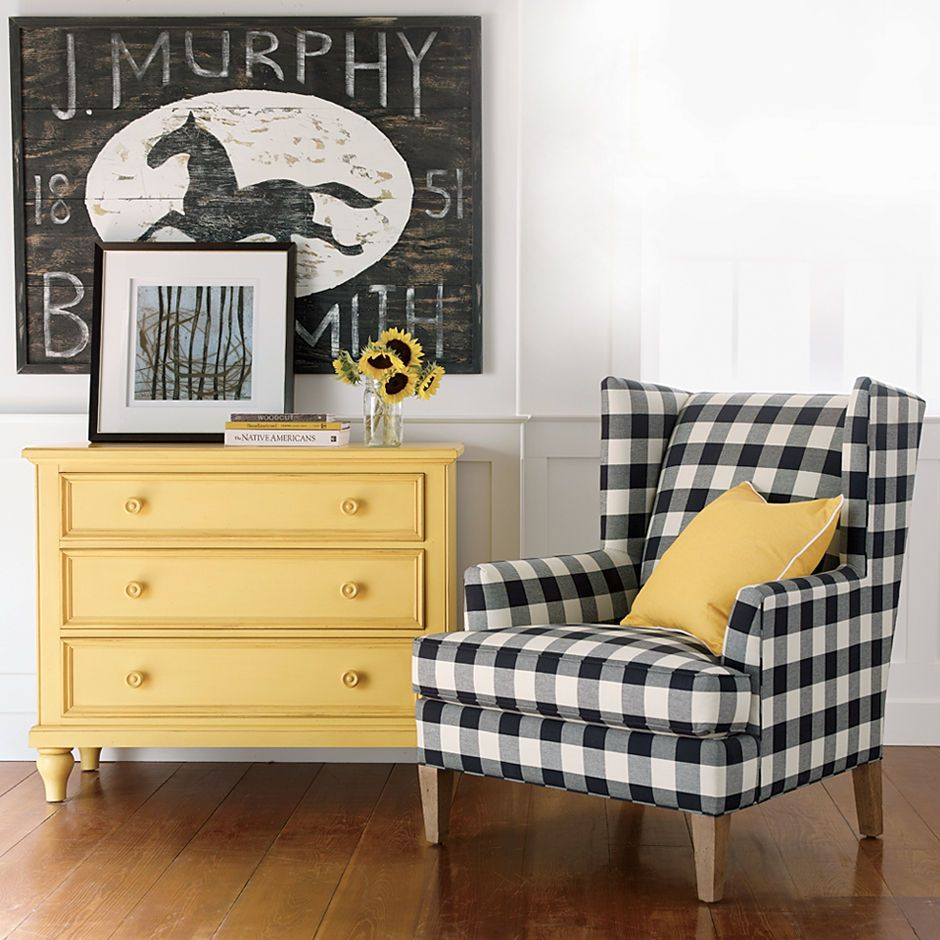 Ethan Allen New Country Chest, Parker Chair And J. Murphy Blacksmith