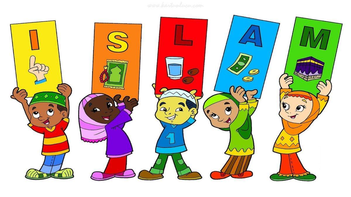 Gambar Kartun Anak Tk Muslim