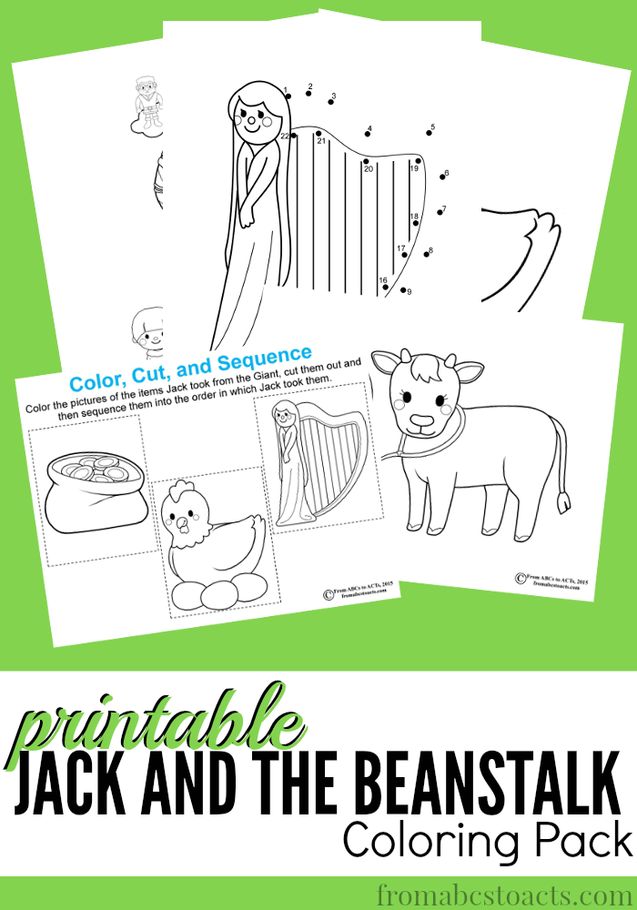 Jack and the Beanstalk Printable