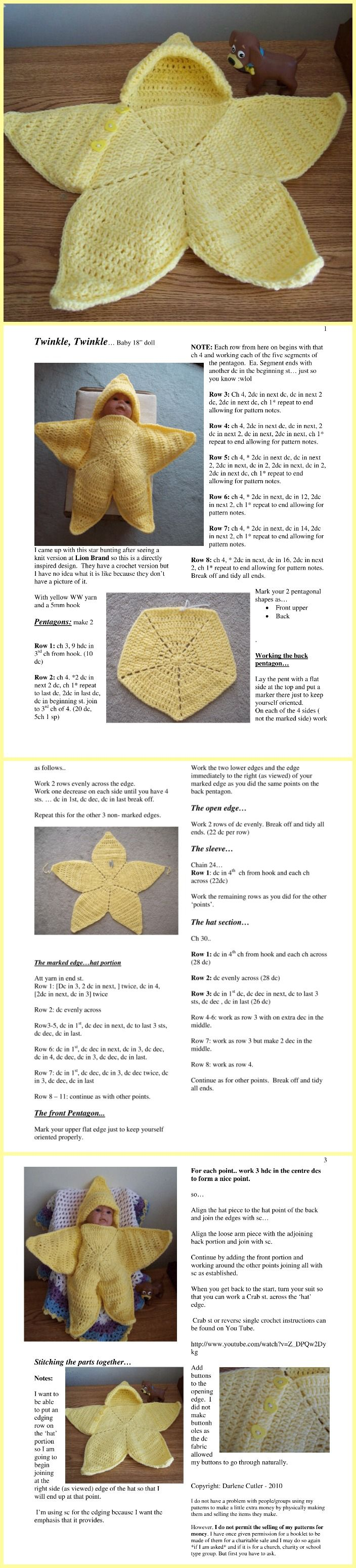 Free Patterns & Tutorials #crochetbabycocoon