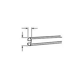Oval Rod Series 9001 Track 12 Feet Long Diy Curtain Rods