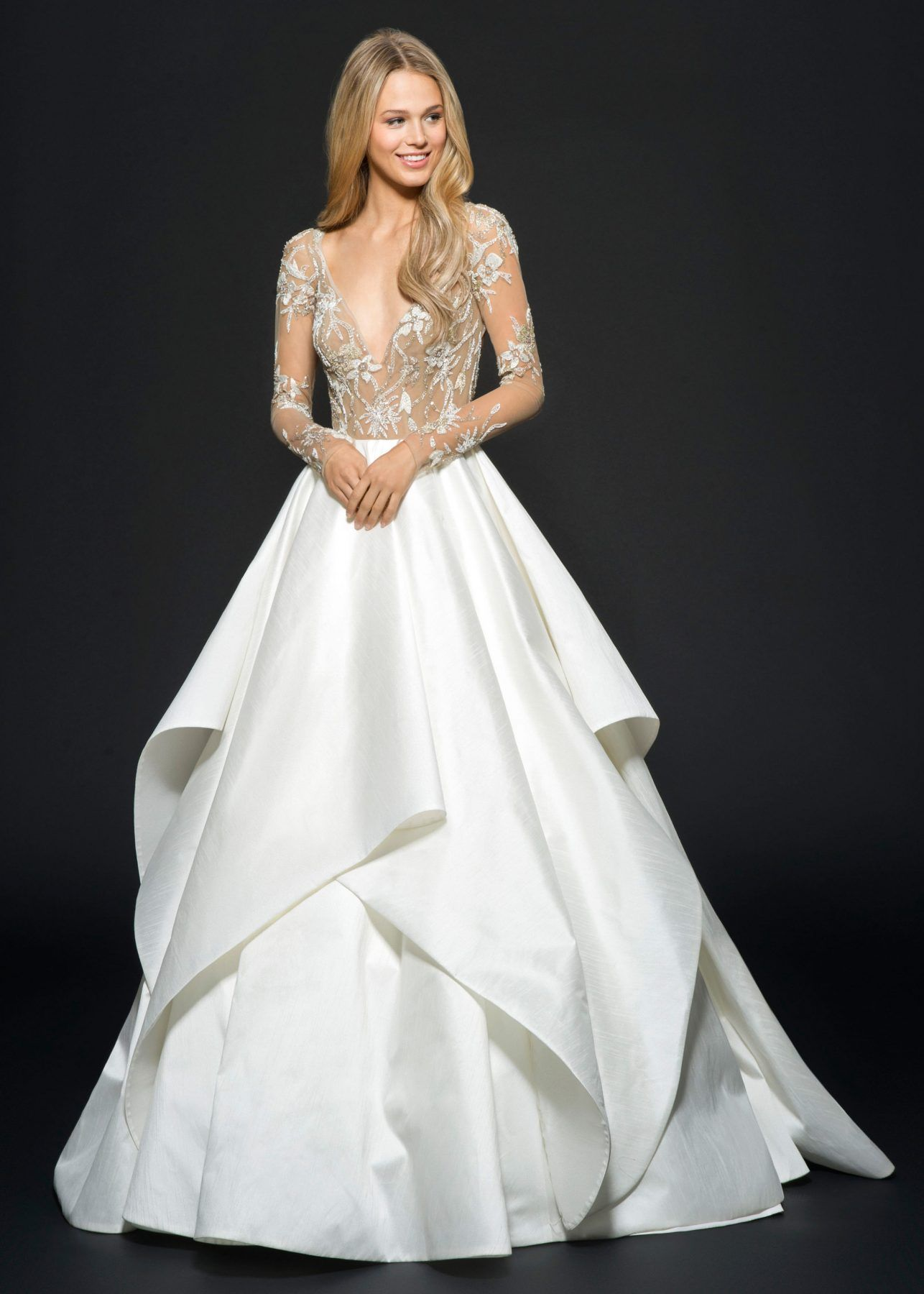 Ball gown wedding dress by hayley paige image 1 ball