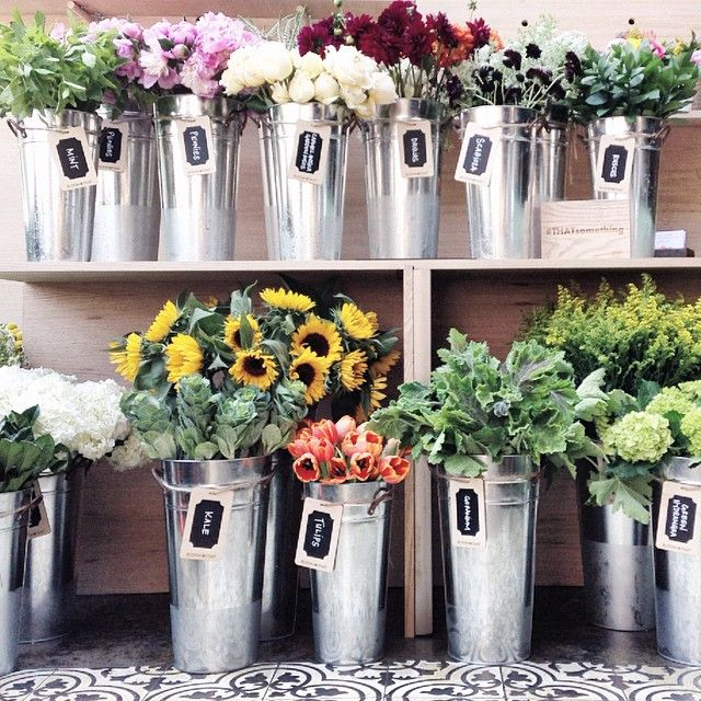 This Build Your Own Bouquet Bar At A Recent Bloomthat
