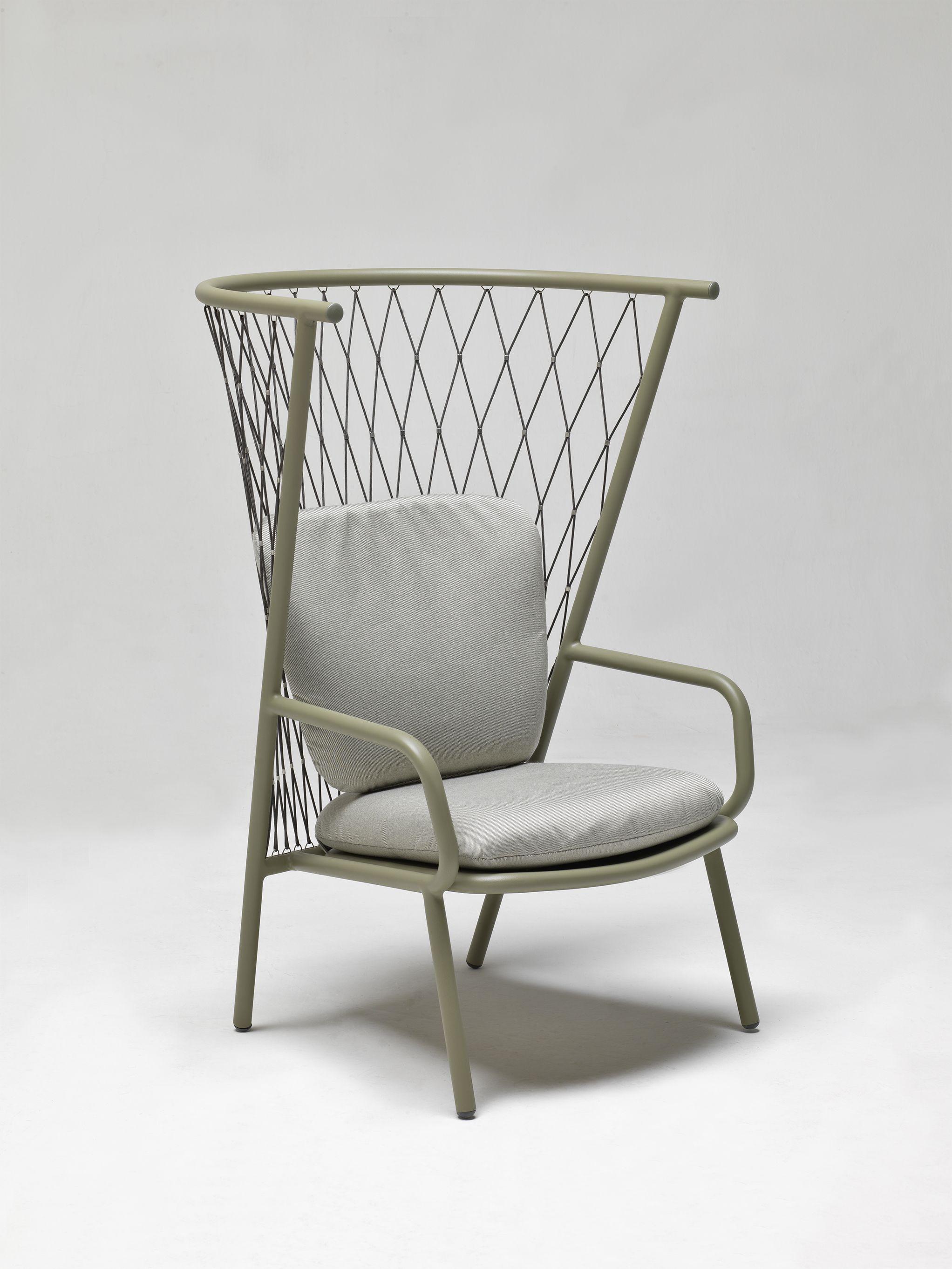Nef Lounge Chair Designer: Patrick Norguet #emu #emuamericas #nefcollection  #patricknorguet #outdoorliving