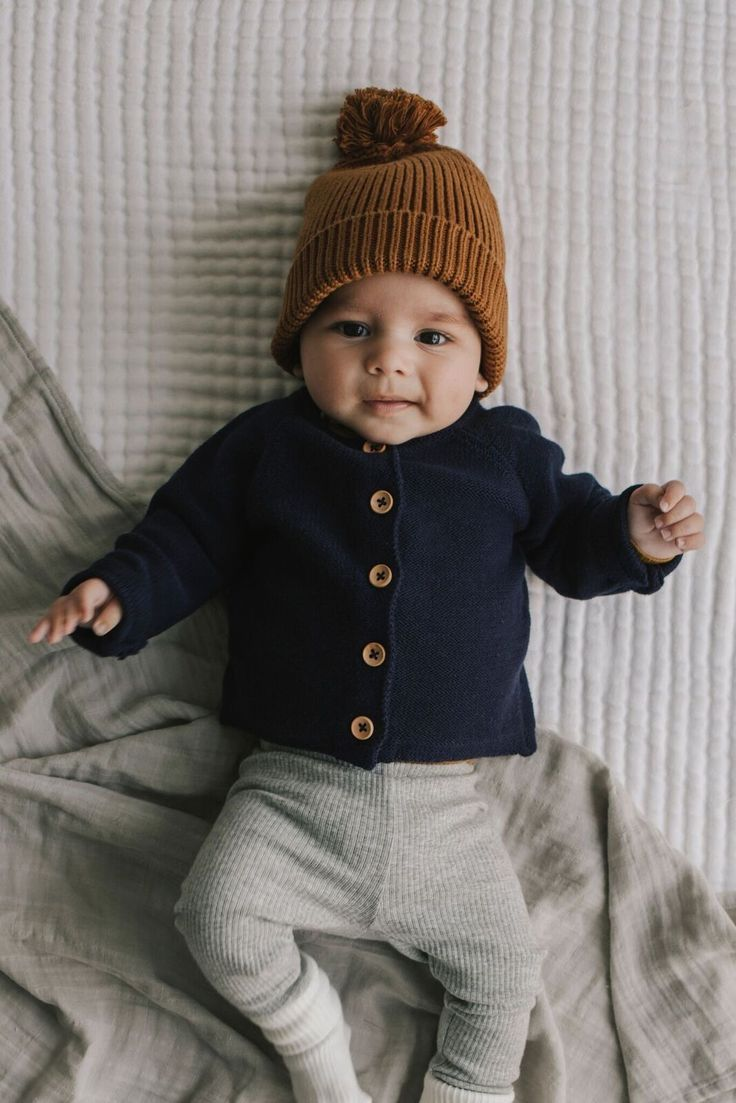 Photo of That sweet face! . . . . . . . . . . . #babyboy #sweater #knit #winteroutfits