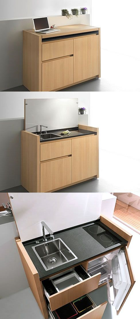 K1 Kitchen This Mini Kitchen Is Both Simple And Sophisticated
