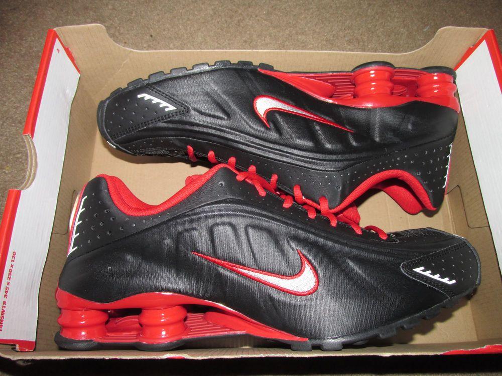Nike Shox R4 Mens Running Shoes Athletic