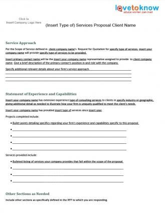 Environmental Cleanup Sample Proposal - The Environmental Cleanup - proposal for service template