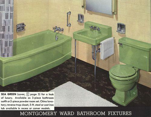 Mid Century Bathroom Fixtures