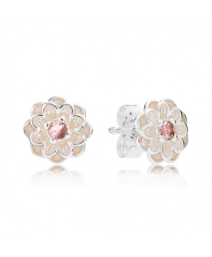 Pandora Blooming Dahlia Stud Earring Pandora Jewelry In Another