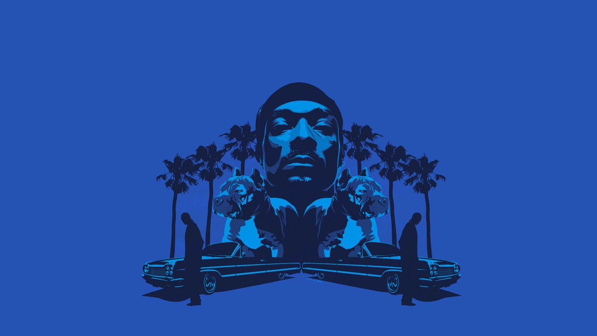 Download Wallpaper 1920x1080 Snoop Dogg Dogs Trees Cars Face Full Hd 1080p Hd Background Snoop Dogg Dog Tree Snoop