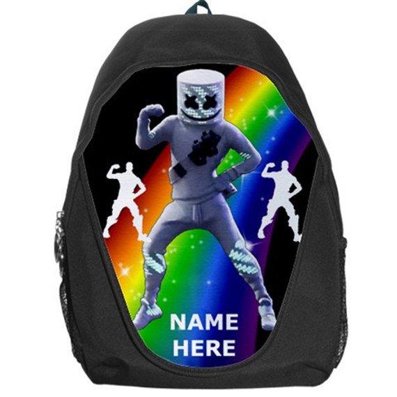 Marshmello Emote Marsh Walk Emote Dancer Personalized Messenger Bag Free Personalization Choose Background Color Add Your Own Words