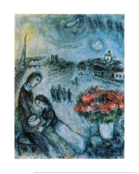 Marc Chagall – An artist and his bride