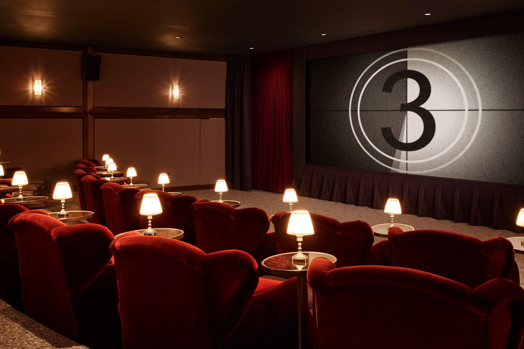 Club Selecto Commercial Space Soho House Home Theater Rooms Wiring A Room Screening Ad Espaa Dr Setup