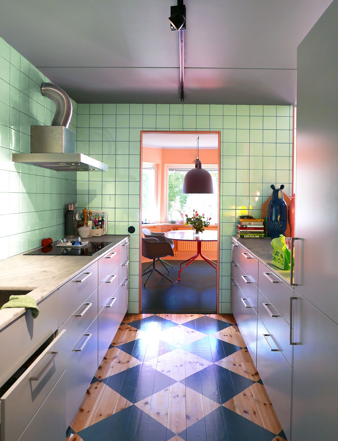 Itus the best of both worlds when you blend s mint green tile