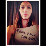 Jessica Biel Join Bring Back Our Girls Campaign For Missing Nigerian Girls (Photos)