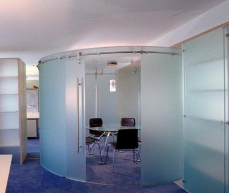 Risultati immagini per porte vetro curve villa campagna - Porta scorrevole curva ...