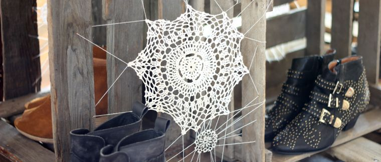 Scenes From The Office This Week! Design room, Spider webs and - spider web decoration for halloween