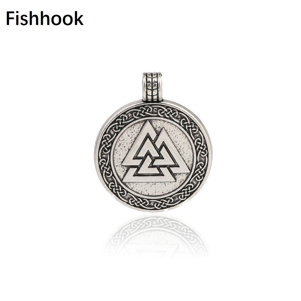 Find More Charms Information About Fishhook Odin S Symbol
