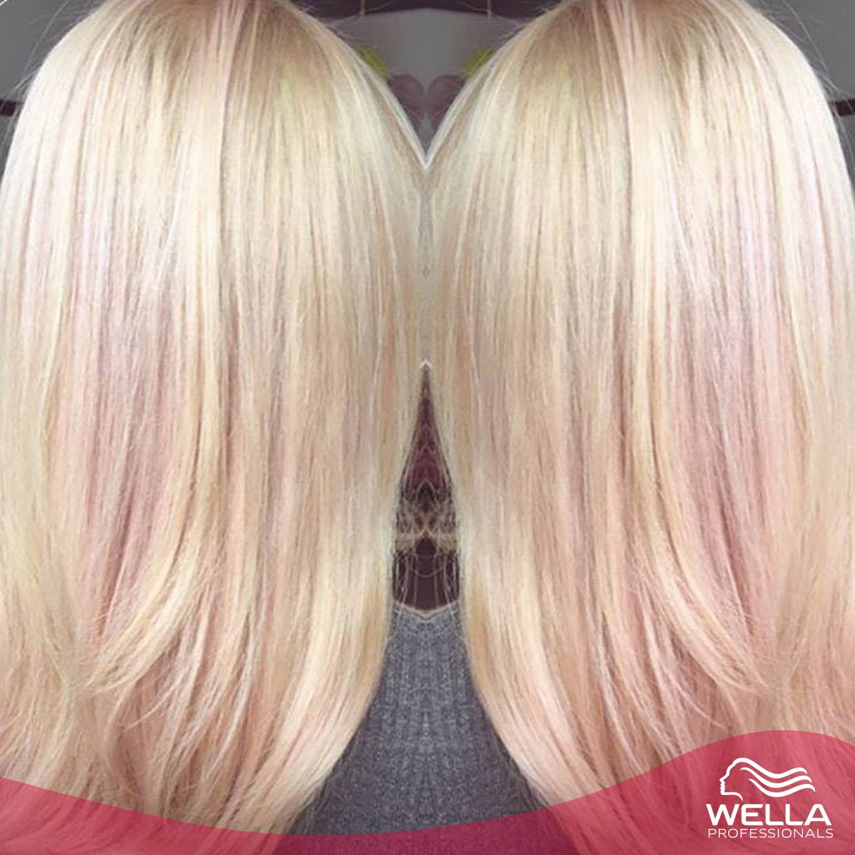 لوك الأسبوع لون بلاتيني وردي رائع من ابتكار مصف ف الشعر جورج ليسلي Look Of The Week Perfect Pink Platinum Created By Geor Hair Hair Styles Long Hair Styles