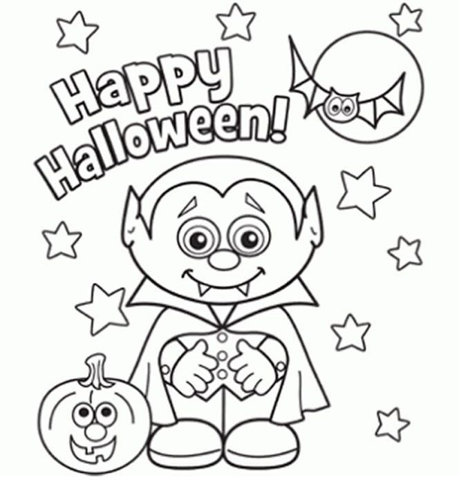 happy halloween coloring pages printable and coloring book to print for free find more coloring pages online for kids and adults of happy halloween