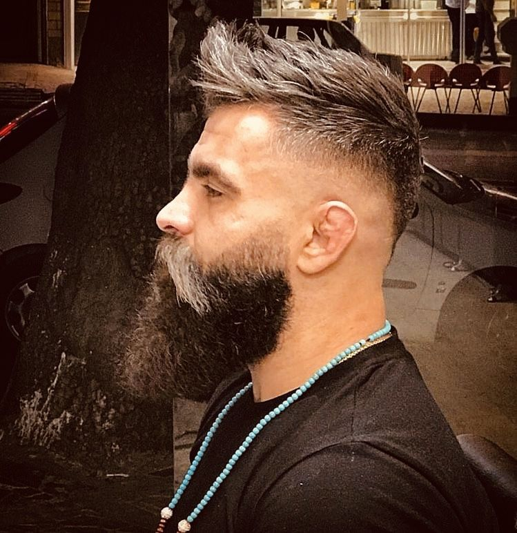 29 Best Short Hairstyles With Beards For Men 2020 Guide Cool Hairstyles For Men Mens Hairstyles Short Mens Haircuts Short