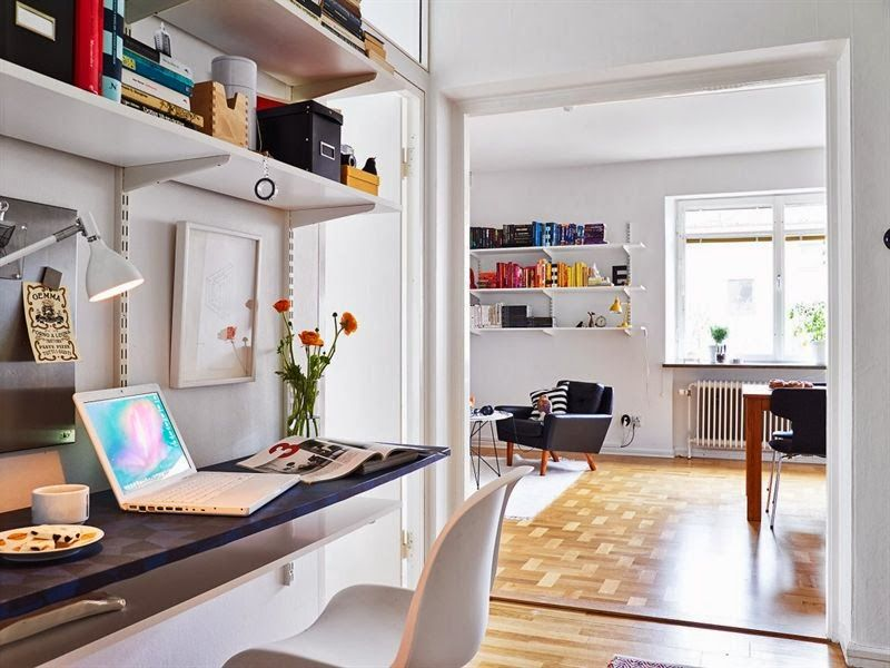 Adjoining Study Room To Living Room  My Personal Interior Design Mesmerizing Living Room Office Ideas 2018