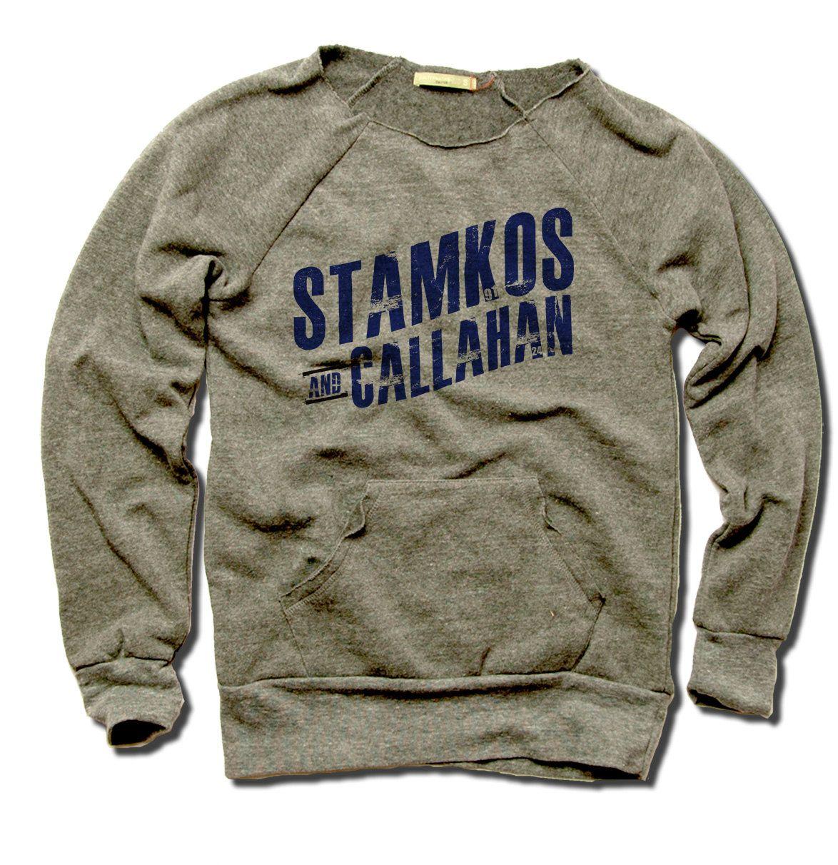 Steven Stamkos and Ryan Callahan Officially Licensed NHLPA Tampa Bay Women's MANIAC Sweatshirt S-XL Stamkos and Callahan Blue