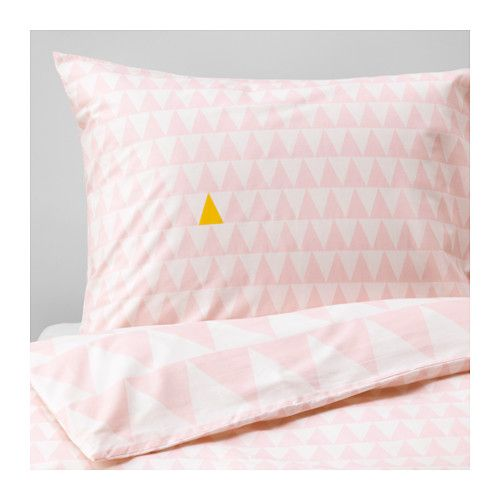 Ikea Stillsamt Light Pink Duvet Cover And Pillowcase S Kids Bed