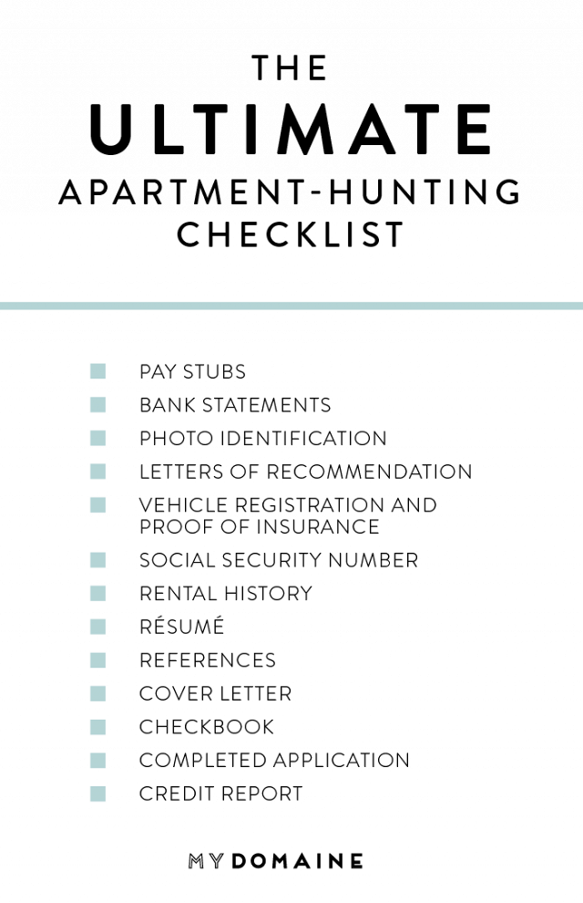 11 Things You Should Bring When Looking at a Rental #apartmentliving