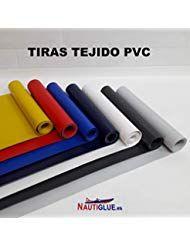 NAUTIGLUE Parches de PVC para la reparacion de Zodiac e hinflables de 1 Metro x 25cm Blanco #Deporte...