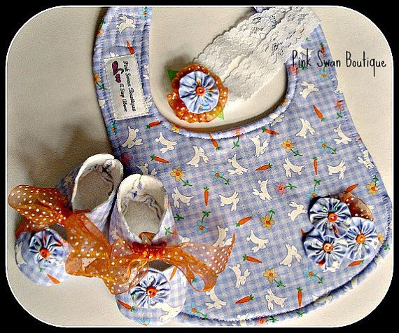 BoutiqueBaby Easter Gift Set by PinkSwanBoutique on Etsy, $24.00
