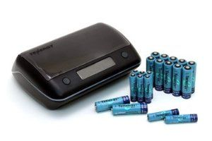 Combo Tn190 Universal Smart Charger 20 Pcs Nimh Rechargeable Batteries 12aa 8aaa By Tenergy 57 99 Tn190 Charger Feat Smart Charger Nimh Battery Battery