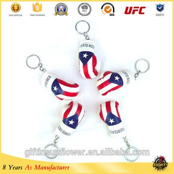 Custom mini boxing gloves keychain, high quality keychain