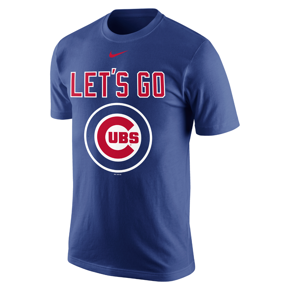 be27c6cb Nike Playoff Pack (MLB Cubs) Men's T-Shirt Size Large - Clearance ...