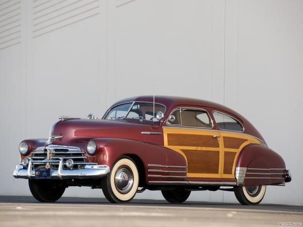 1948 Chevrolet Fleetline Aerosedan Country Club Woody Chevrolet