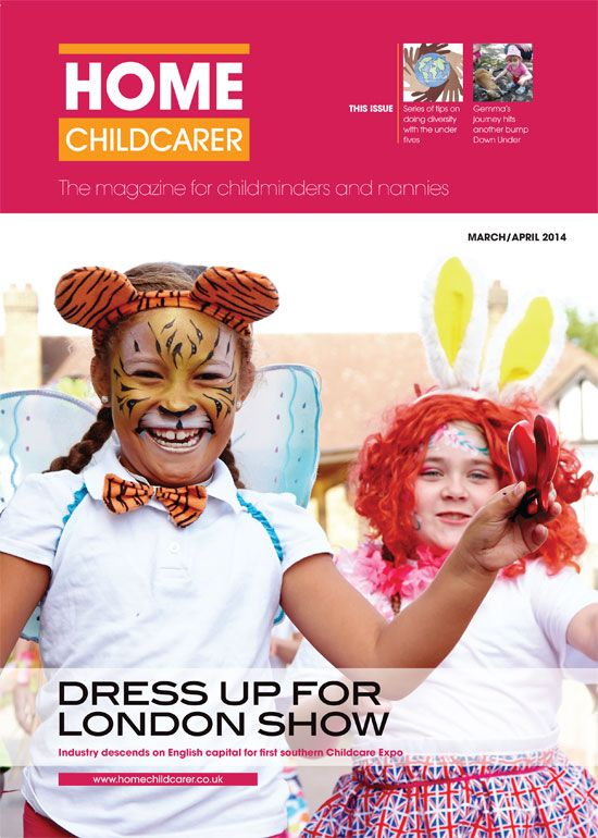 Home Childcarer Issue 10 Front Cover!